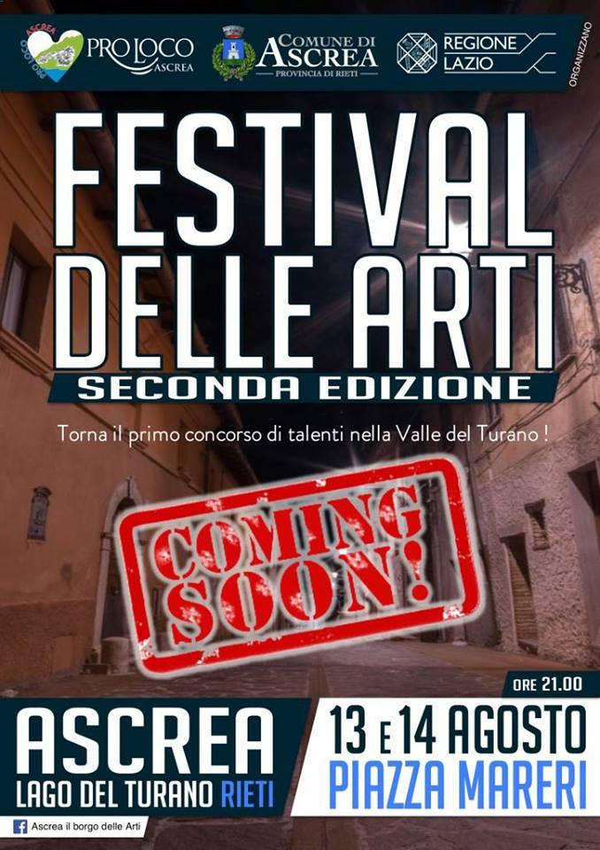 Festival Delle Arti Ascrea RIETI Lago Del Turano