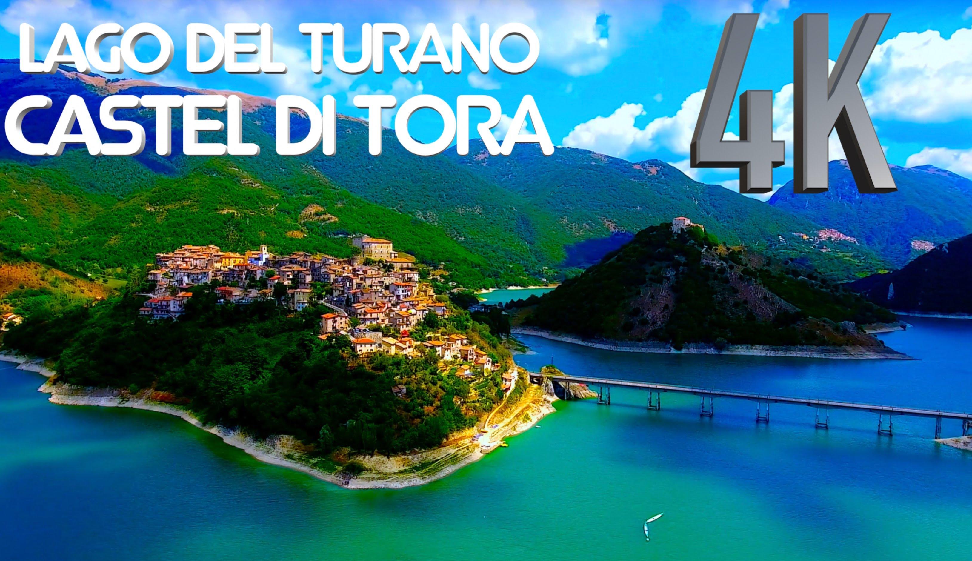 Video Drone Lago Turano