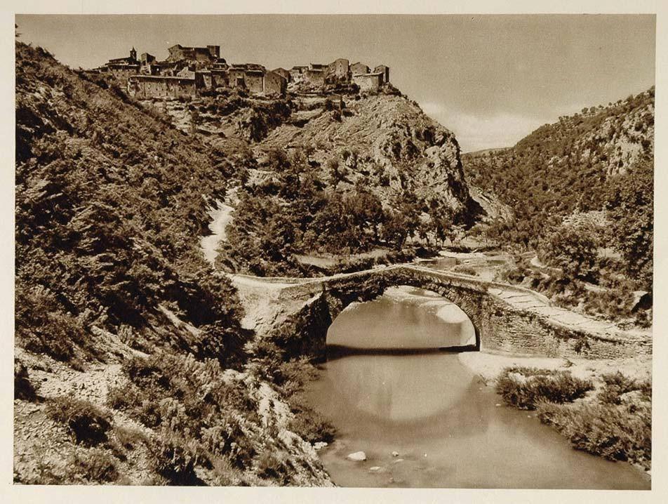 Ponte vecchio Posticciola foto Kurt Hielscher