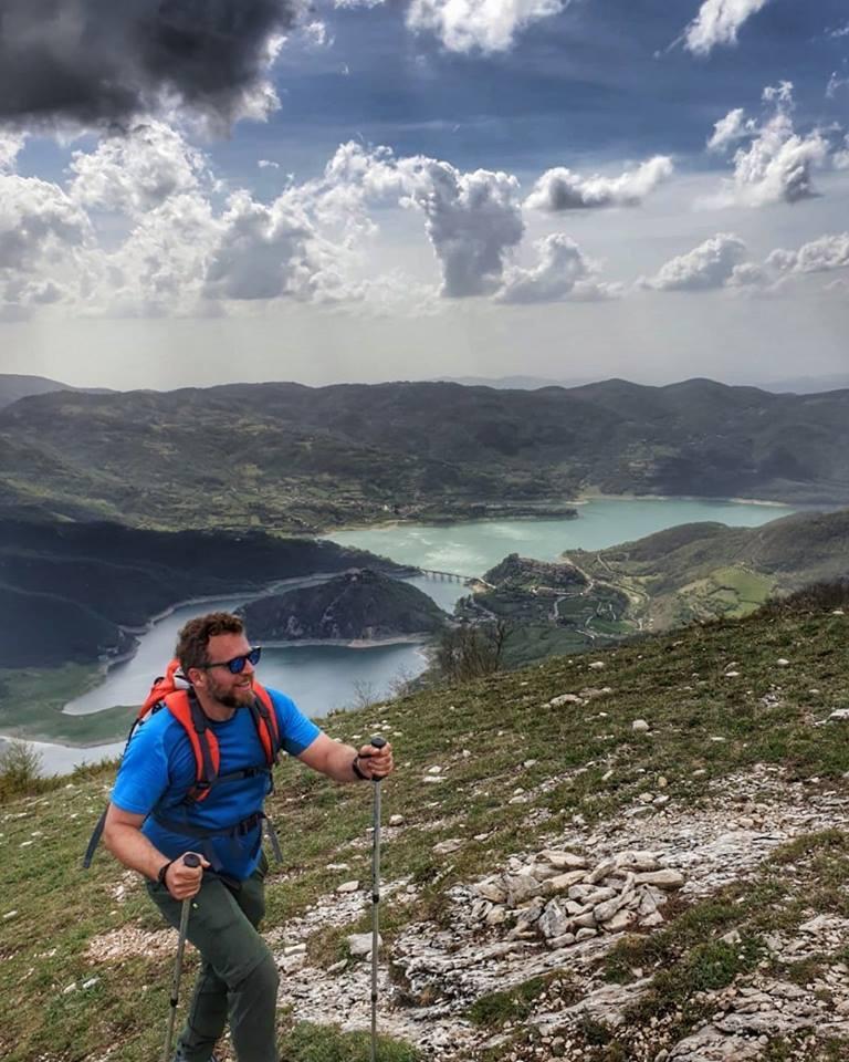 Trekking escursione nel Lazio sul Monte Navegna Appennini Laziali