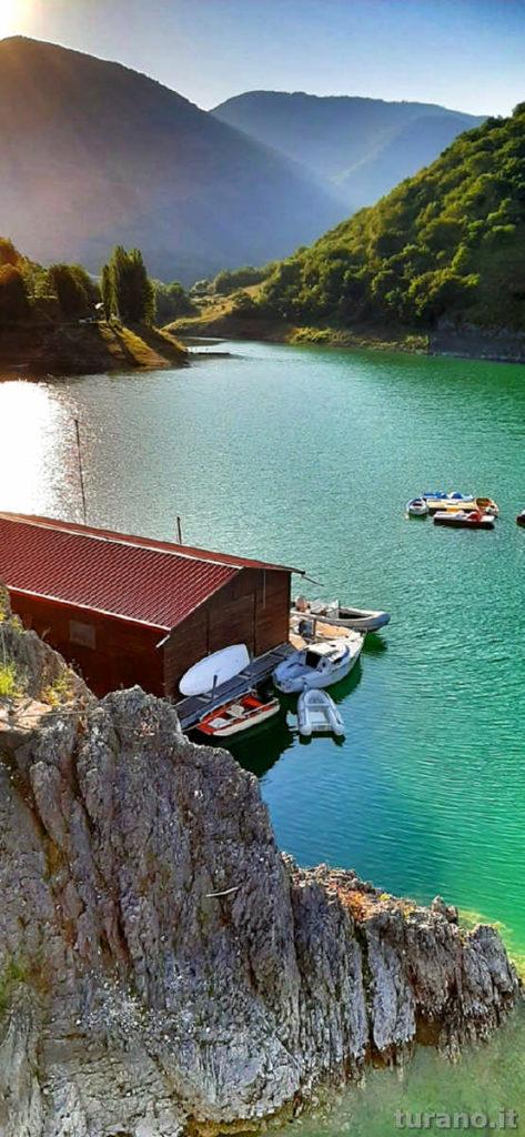 Turano Esplora, canone e pedalò per godersi le bellezze del Lago turano