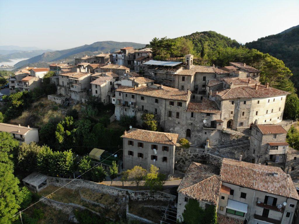Stipes frazione di Ascrea, paesino arroccato in provincia di Rieti
